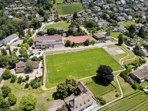 FC Blau-Weiss Erlenbach Sonnenfeld Richtung Berg