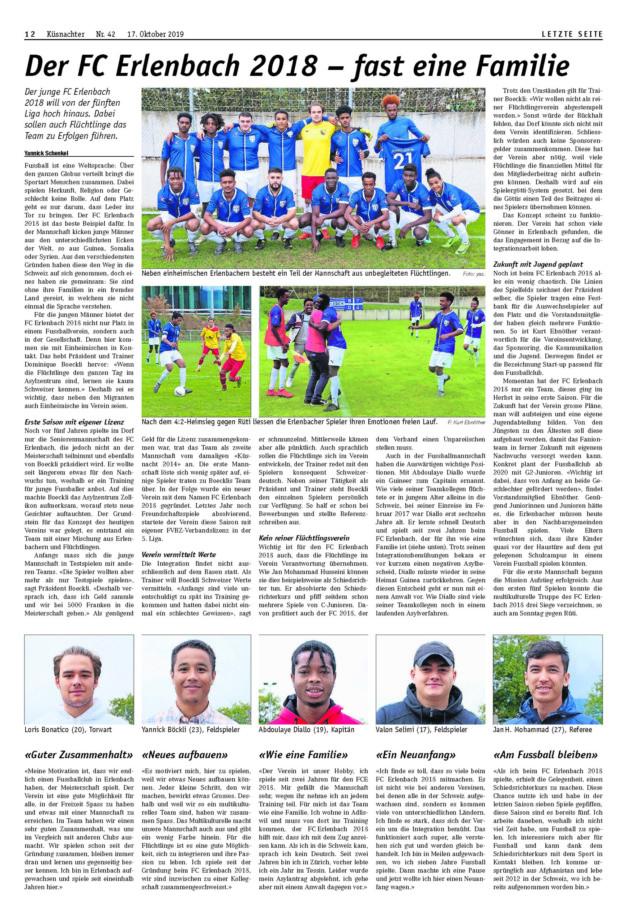 FC Blau-Weiss Erlenbach Küsnachter